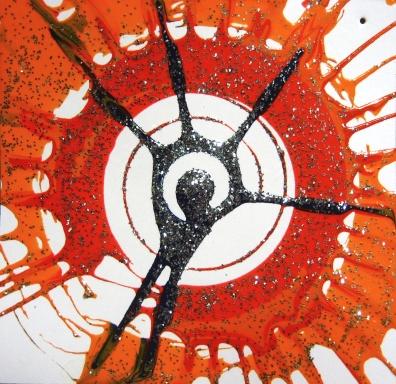 Red Circle Art