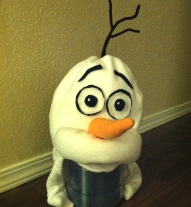 Olaf Costume Head
