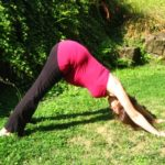 Prenatal Downward Facing Dog Yoga Pose